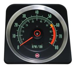 Classic Headquarters Camaro 6, 000 Redline 8, 000 Tachometer All Ignitions R-153