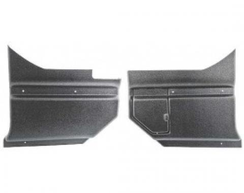 Ford Thunderbird Interior Kick Panels, With Fuse Cover, Hardtop, 1964-66