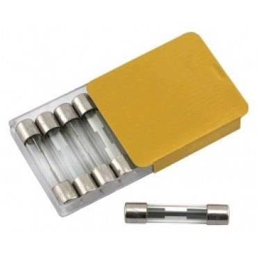 Glass Tube Fuses, SFE-20, Set Of 5 Pieces, For The Heater, 1955