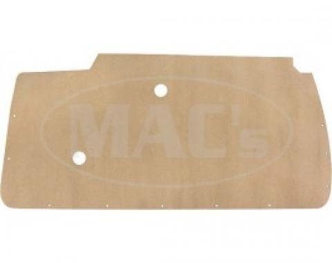 Ford Thunderbird Door Panel Water Shields, Kraft Paper With Poly Backing, Die-cut, 1955-57