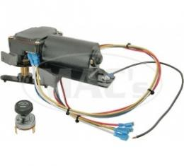 Ford Thunderbird Windshield Wiper Motor Conversion Kit, 12 Volt, From Vacuum To Electric, 1955-57