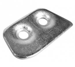 Ford Thunderbird Striker Plate Auxiliary Plate, Right, 1961-63