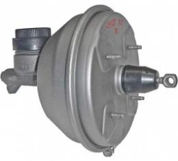Ford Thunderbird Power Brake Booster, REBUILD SERVICE, Re-Manufactured With Master Cylinder, Clamp Band Type, 1961-64