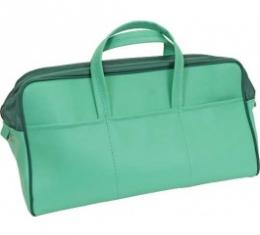Ford Thunderbird Tote Bag, Dark Green & Light Green, 1957