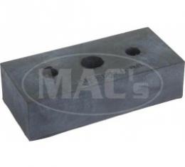Ford Thunderbird Radiator Support Pad, Rubber Block, Approx 2-7/8 Long X 1-1/4 Wide X 3/4 Thick, 1955-57