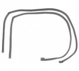 Ford Thunderbird Roof Side Rail Seals, Right & Left, Coupe Except Body Styles 63C & 63D, 1964-66