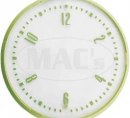 Ford Thunderbird Clock Face, With Recessed Numbers, 1955-56