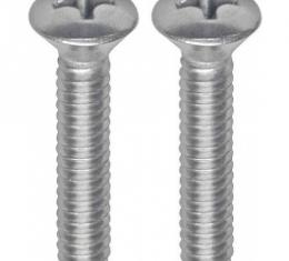 Ford Thunderbird Outside Rear View Mirror Screw Set, Early 1964 Only