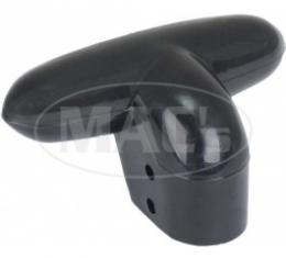 Ford Thunderbird Seat Adjuster Handle, Black Plastic, For Manual Seat 1955-57
