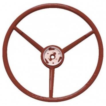 Ford Thunderbird Steering Wheel, Red, 1957
