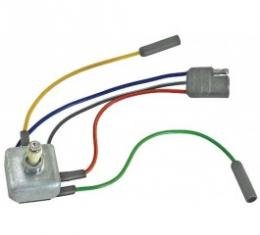 Ford Thunderbird Power Seat Switch, With White Knob, 1959-60