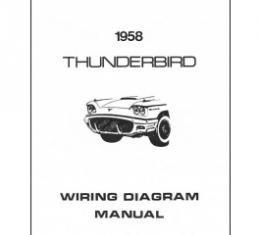 Thunderbird Wiring Diagram Manual, 8 Pages, 1958