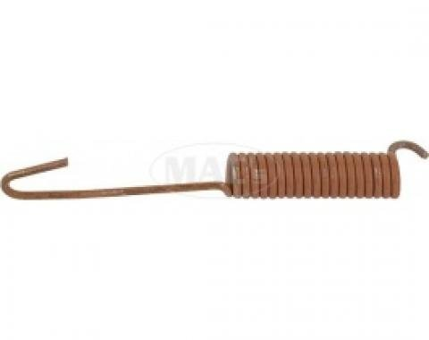 Ford Thunderbird Brake Shoe Return Spring, Rear, 5 Long, 1958-66