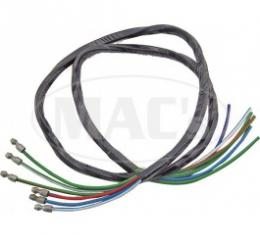 Ford Thunderbird Turn Signal Switch Wires, 6 Wires, 34 Long, 1955