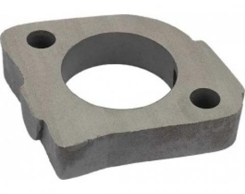 Ford Thunderbird Exhaust Heat Riser Spacer, Cast, Replaces Heat Riser Valve, 1955-57
