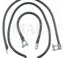 Ford Thunderbird Battery Cable Set, 1955