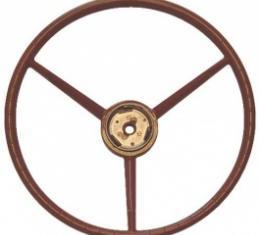 Ford Thunderbird Steering Wheel, Bronze, 1957