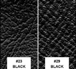 Ford Thunderbird Convertible Top, Black Vinyl With Black Interior, 1955-57