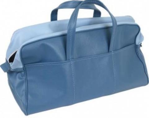 Ford Thunderbird Tote Bag, Dark Blue & Light Blue, 1957