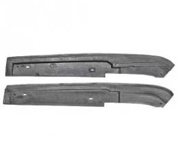 Ford Thunderbird Convertible Top Arm Pads, Rubber, 1964-66