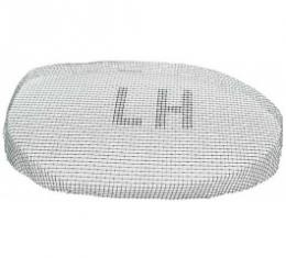 Ford Thunderbird Vent Screen, Left, For Fresh Air Duct Scoop, 1955-57
