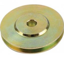 Ford Thunderbird Emergency Brake Cable Pulley, 1955-60