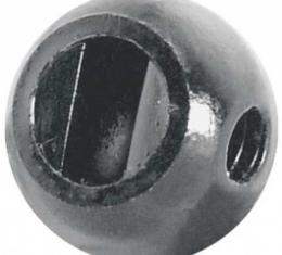 Ford Thunderbird Heater Defroster And Temperature Control Knob, Round Type, 1956-57