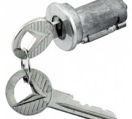 Ford Thunderbird Trunk Lock Cylinder, Includes 2 Keys, 1960
