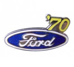 Hat Pin, Ford Oval With '70