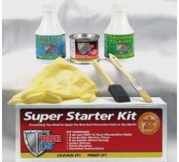 POR-15 Super Starter Kit, Gloss Black