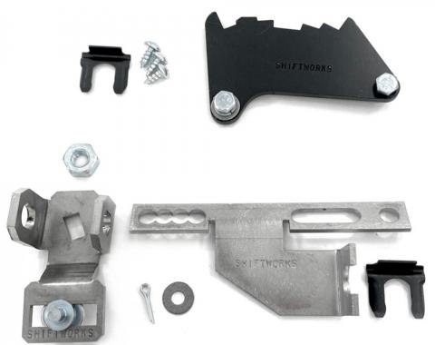 Full Size Chevy Automatic Transmission Shifter Conversion Kit, Turbo Hydra-Matic 700R4 (TH700R4), 1968-1972