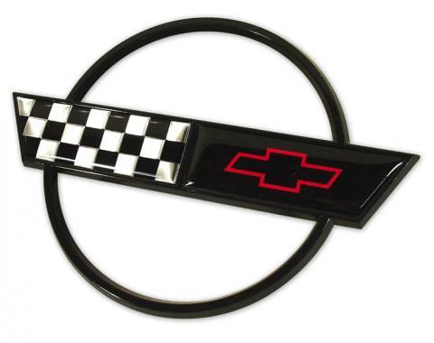 Corvette Gas Door Emblem, 1991-1996