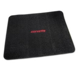 Corvette Cargo Mat, Black with Embroidered Logo, 1968-1982