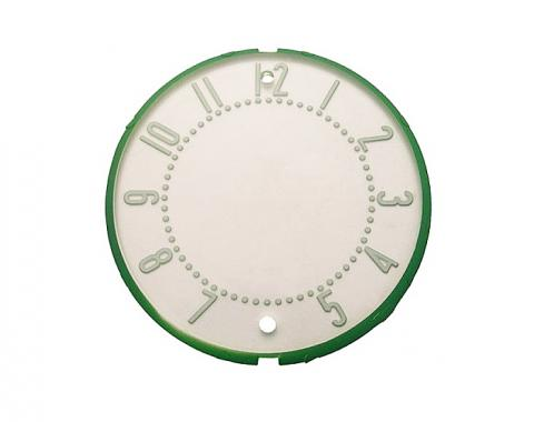 Trim Parts 55-56 Full-Size Chevrolet Clock Face, Each 1056