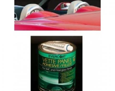 Corvette Convertible Seat Back Hoops Adhesive Kit