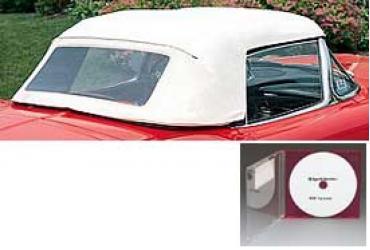 Corvette Convertible Top Installation DVD, 1956-1962
