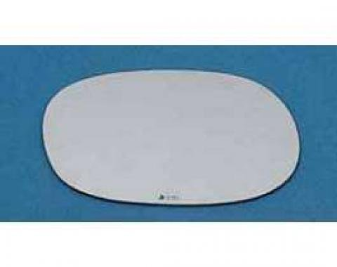 Corvette Outside Sport Mirror Glass, Replacement, Right, 1977-1982