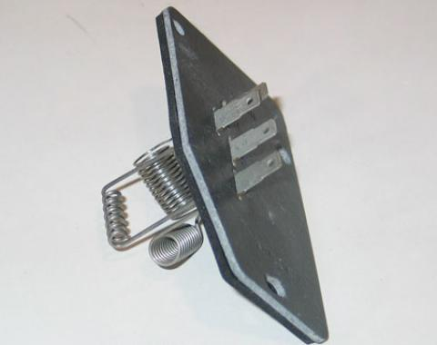 Corvette Air Conditioning Blower Motor Resistor, 1985-1996