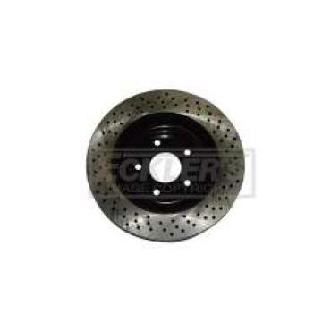 Corvette Front Drilled Rotor, Z51, 2005-2013