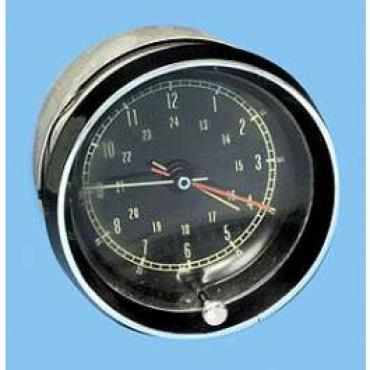 Corvette Clock, Rebuilt, 1963