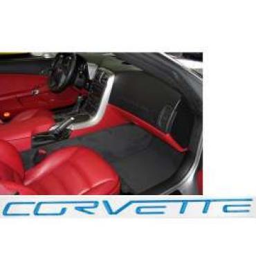 Corvette C6 Dash Lettering Kit, 2005-2013 | Jet Stream Blue