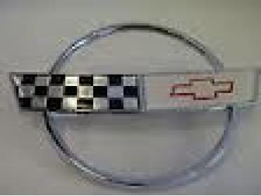 Corvette Hood Emblem, Topside, 35th, 1988