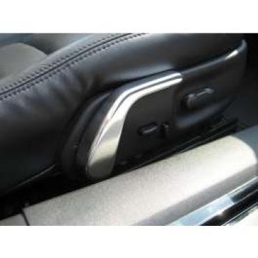 Corvette Seat Adjuster Handles, Billet Aluminum, 1997-2004