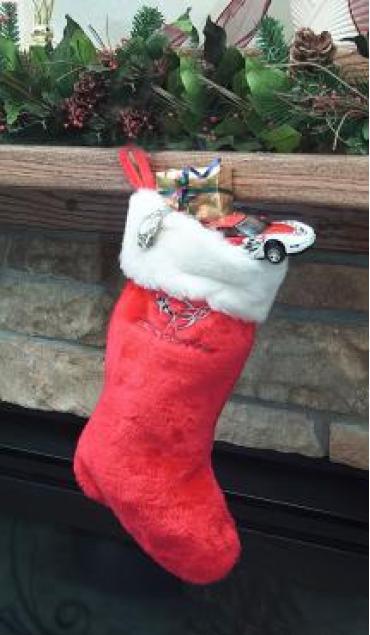 Corvette C5 Christmas Stocking
