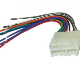 Corvette Radio Wire Harness With Plug, Custom, 1988-1996