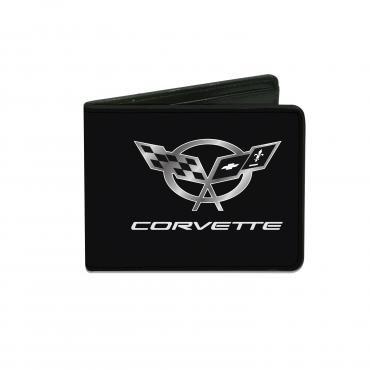 Corvette Bi-Fold Wallet with C5 Logo