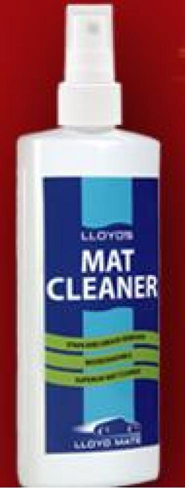 Lloyd Mat Cleaner, 8 Ounce