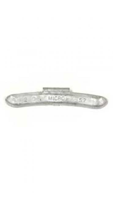 "Wheel weight w/""Micro"" logo, 2.00 oz"