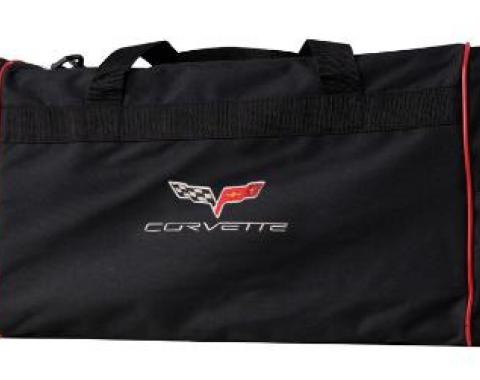 Corvette Duffel Bag with Embroidered Emblem