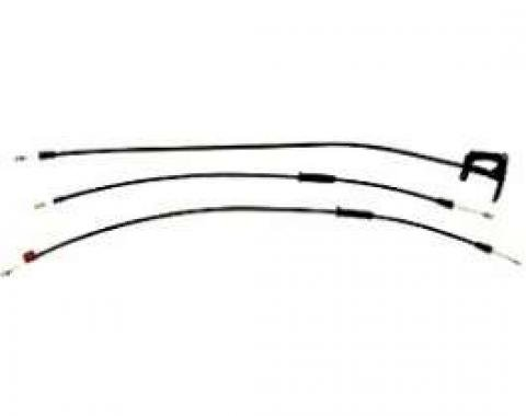 Corvette Convertible Top Latch Release Cable, 1989-1992